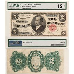 $2 1891 Silver Certificate