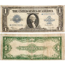 Star Note Silver Certificate, 1923