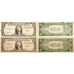 Yellow Seal North Africa Silver Certificates