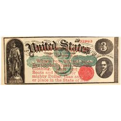 F. Johnson Dry Goods Advertising Note