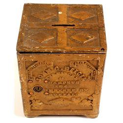 Cast Iron Vault Coin Bank