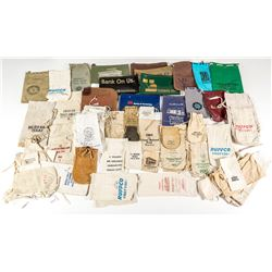 Large Lot of Modern and Unmarked Bank Bags