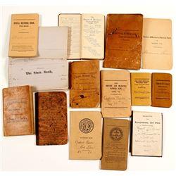 Antique Bank Book Collection (13)