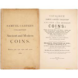 Samuel Carter's Coin Collection Catalog