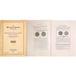 The Belden E. Roach Collection Catalog
