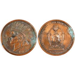 """Pan Pacific Exposition """"Lucky Penny"""""""