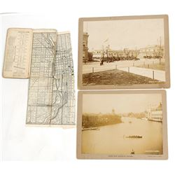 Columbian Exposition Ticket, Photographs & Directory Guide