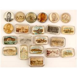 World's Fair Glass Paperweights (21)