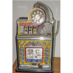 Watling 5¢ Twin Jackpot Rol-A-Top w/Eagle Slot Machine