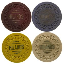 Billings Hilands Gaming Chip Token Collection