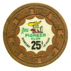 Pioneer Club 25c Gaming Chip