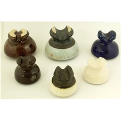 6 Ceramic Insulators