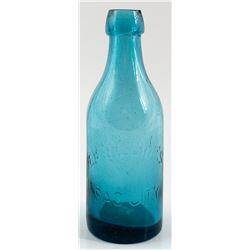 E. L. Billing's Soda Bottle, Sac City