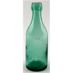 E. L. Billing's Soda Bottle, Sac City