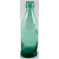 Crystal Water Co. Soda Bottle, San Francisco
