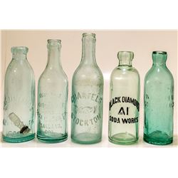 Five Central California, Coastal Region Sodas