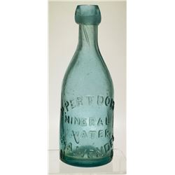 P. Pertdorf Mineral Water Bottle, New Orleans