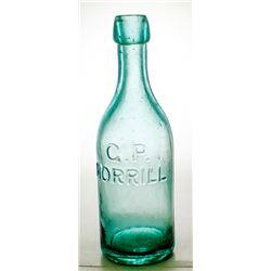 G. P. Morrill Aqua Soda Bottle, Virginia City, Nevada