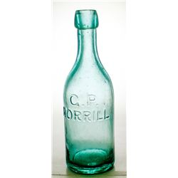 G. P. Morrill Aqua Soda Bottle, Virginia City, Nevada
