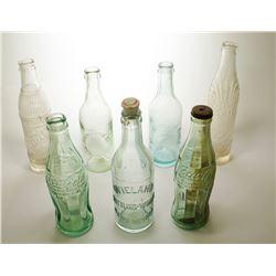 7 Reno and Carson City, Nevada Sodas Bottles