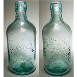 Champion Spouting Spring Water Bottle