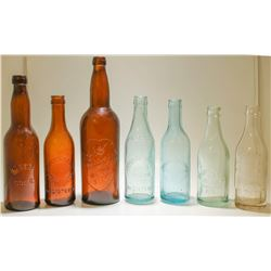 Ohio and Kansas Soda Bottles (7)