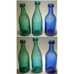 3 Philadelphia Bottles