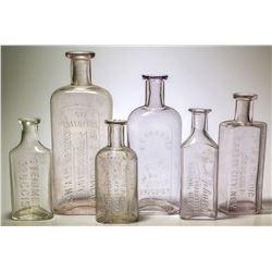 Carson City, Nevada Druggist Bottle Collection