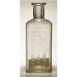 F. J. Steinmetz Druggist Bottle, Carson City, Nevada
