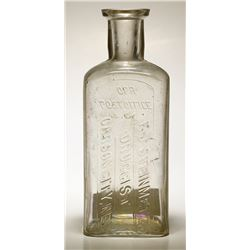 F. J. Steinmetz Druggist Bottle, Carson City, Nevada