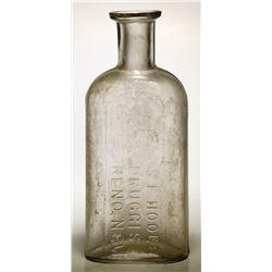 S. F. Hoole Druggist Bottle, Reno, Nevada