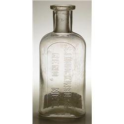 S. J. Hodgkinson & Co. Drug Bottle, Reno, Nevada