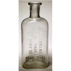 Chas. M Fassitt (With Monogram) Bottle, Ruby Hill, Nevada