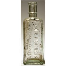 Cole Brothers / Medicine Bottle