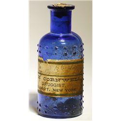 E. Cornwell / Druggist / Poison Bottle