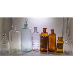 Eight Medical Bottles