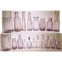 19 Purple Bottles