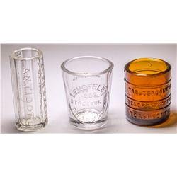 3 Dose Glasses