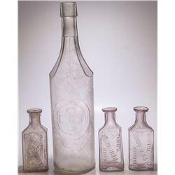 Four Hospital Bottles