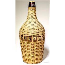 I. W. Harper Wicker Basket Bottle