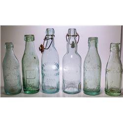 Six Old Bottles