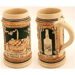 Beautiful Aug. Lang & Co. Beer Stein