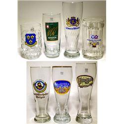 29 Mostly German Beer Glasses