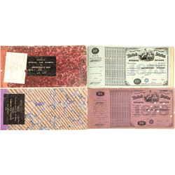 Dakota Territory Special Tax Stamps  for Dealers in Leaf Tobacco and Cigars