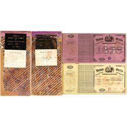 Dakota Territory Wholesale Liquor Tax Stamp Books