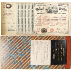 Special Tax Stamps for Manufacturers of Cigars