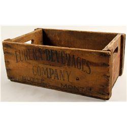 Eureka Beverages Co. Wood Beverage Case, Butte, Montana