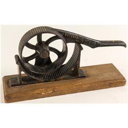 Antique Cork Rolling Device