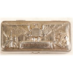 Fancy Metal Case for G. H. Cleveland - United State Navy