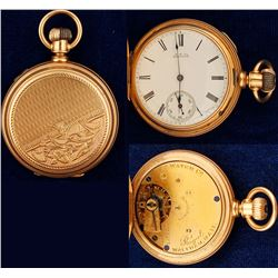 14K Cased Ladies Pocket Watch
